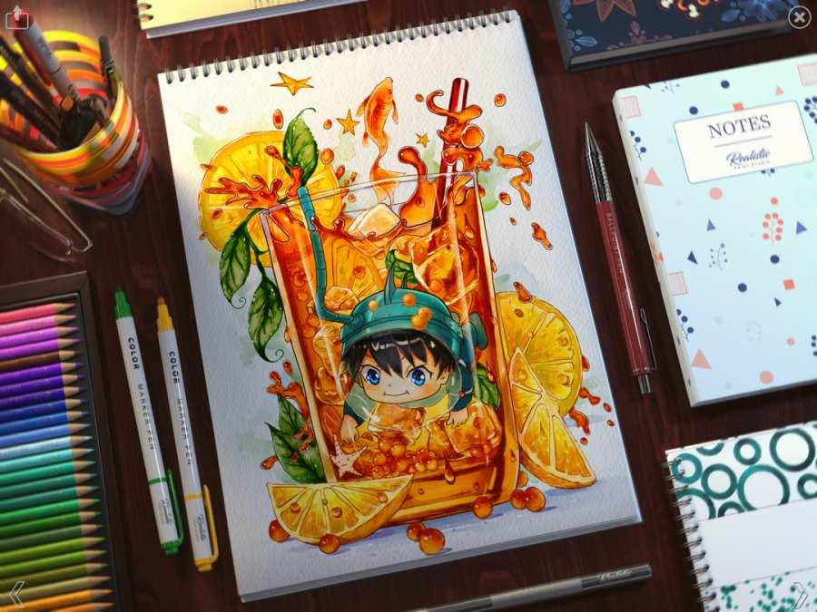 Realistic Paint Studio截图2