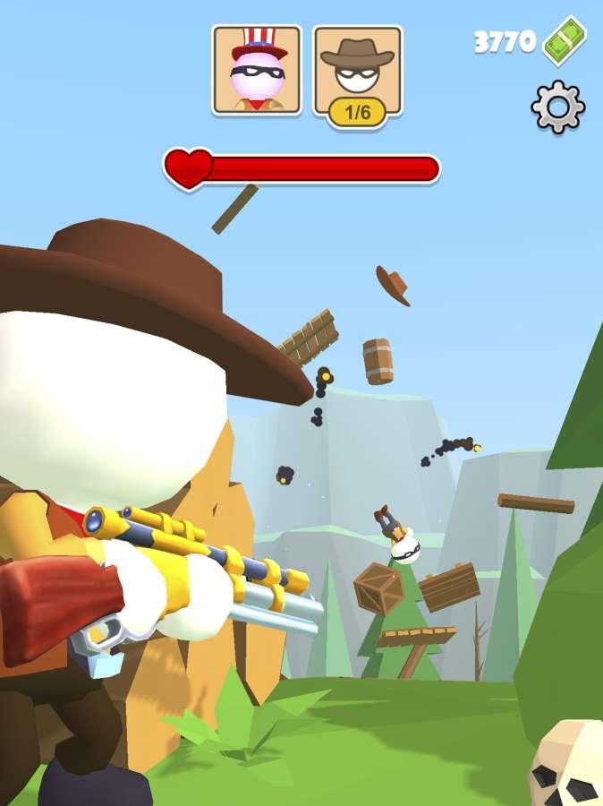 《西部狙击手:狂野西部》FPS射击游戏