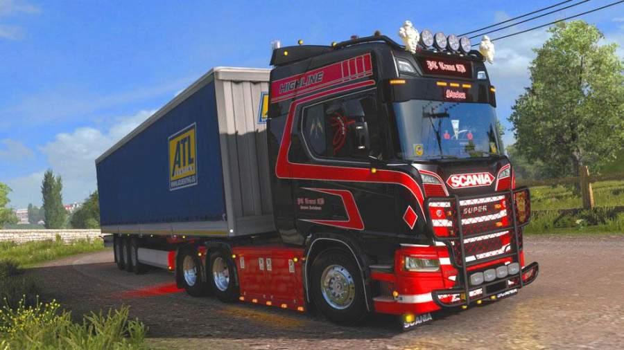 欧洲货运卡车模拟器2020