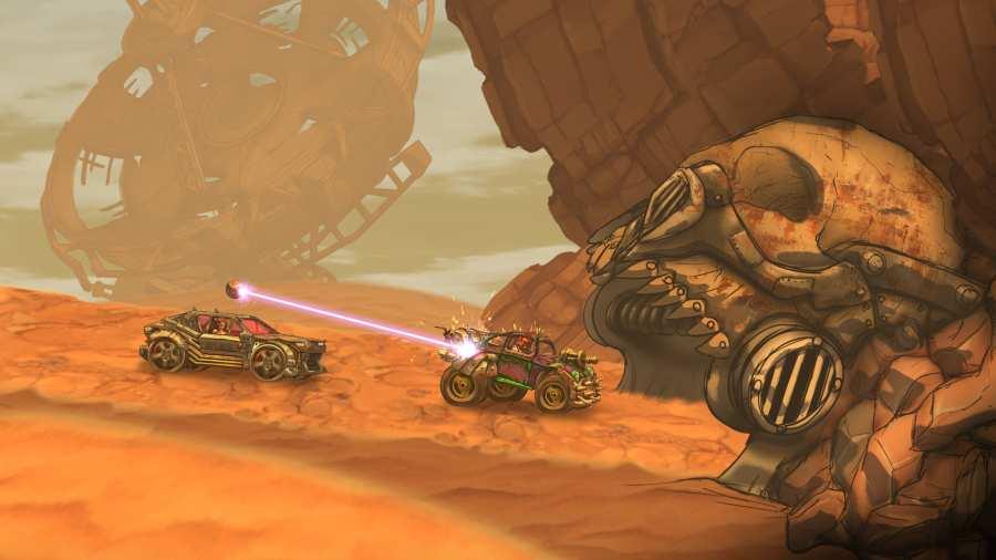 公路勇士:戰斗賽車截圖4