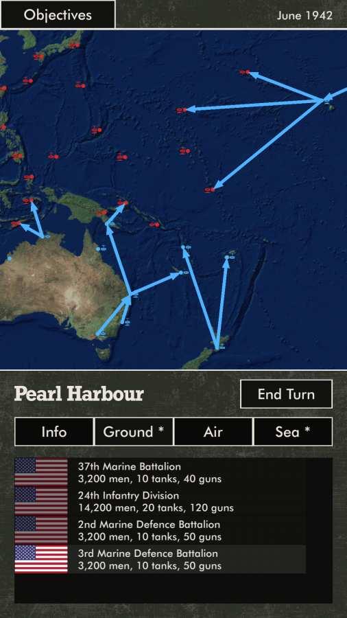太平洋战火截图1