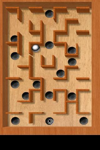 倾斜的迷宫游戏