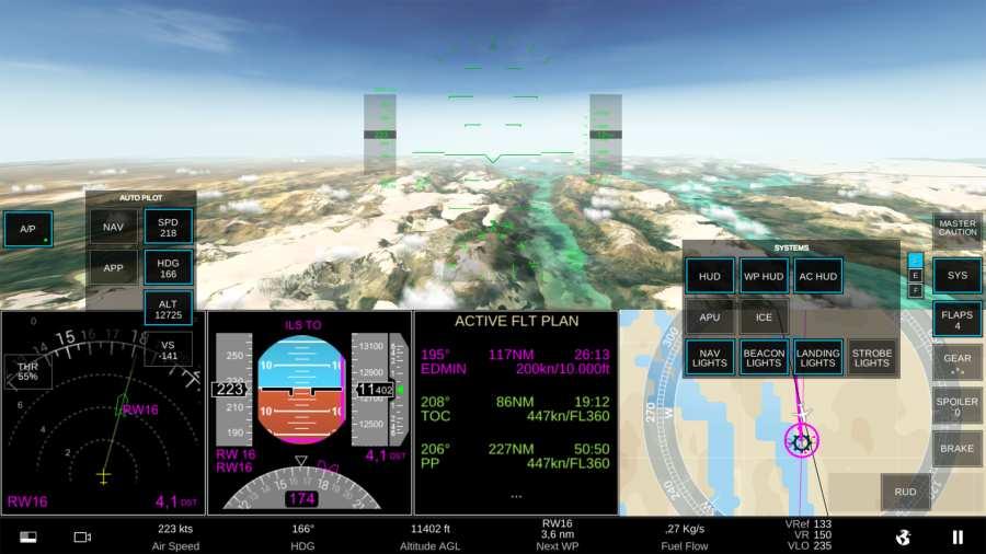 真实飞行模拟器截图1