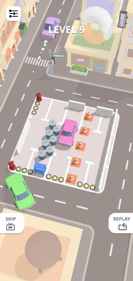 滑动停车截图0