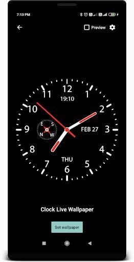 时钟动态壁纸截图0