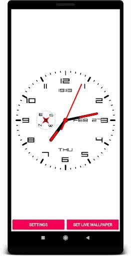 时钟动态壁纸截图1