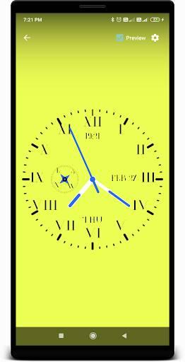 时钟动态壁纸截图4