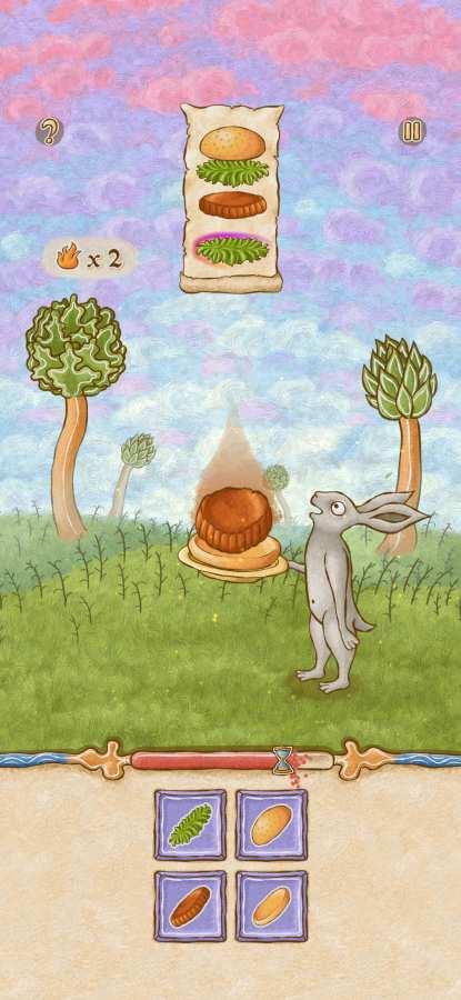 兔子和汉堡截图0
