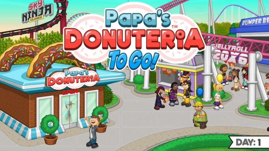 老爹甜甜圈店截图0