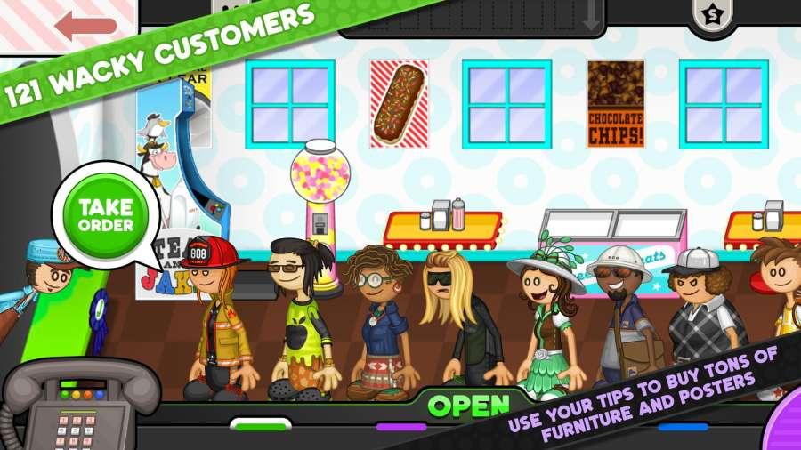 老爹甜甜圈店截图2