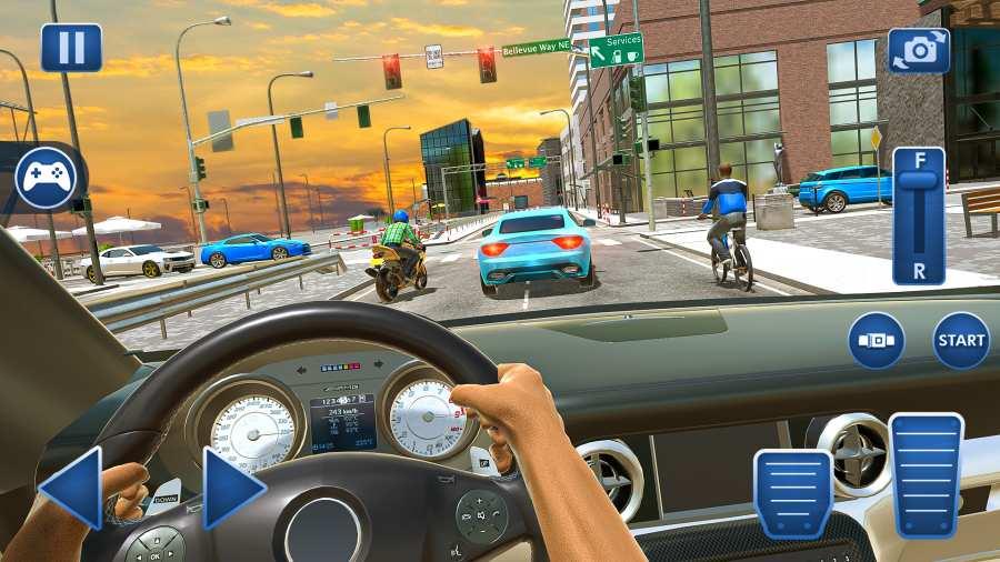 汽车驾驶学校模拟器2021截图1
