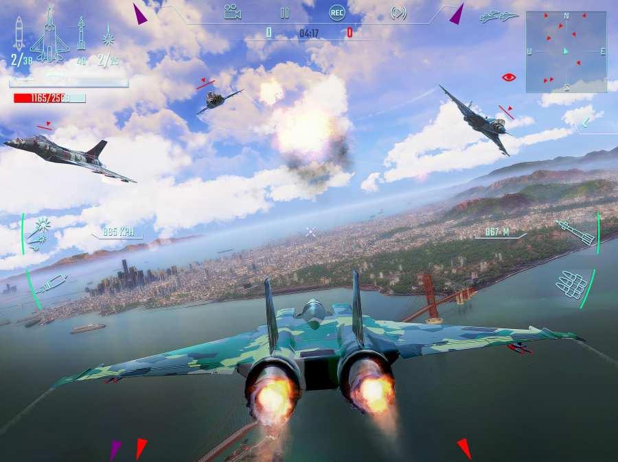 搏击长空:无限战机截图1