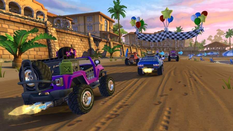 沙滩赛车2:岛屿冒险 截图3