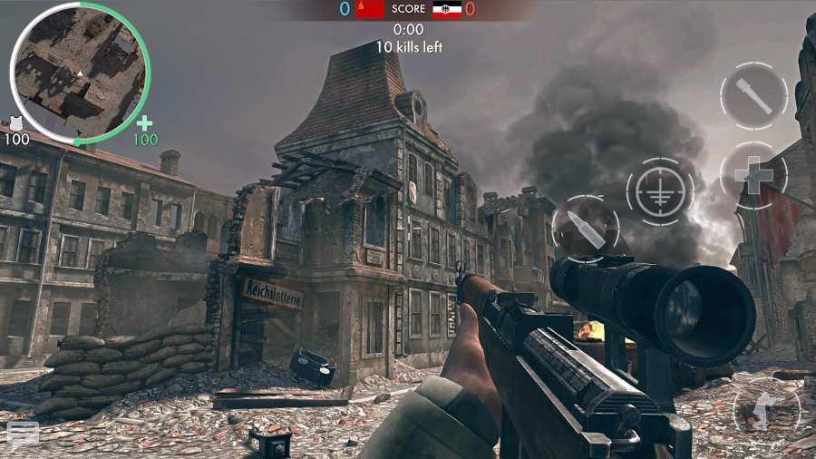 世界战争 - 英雄截图3