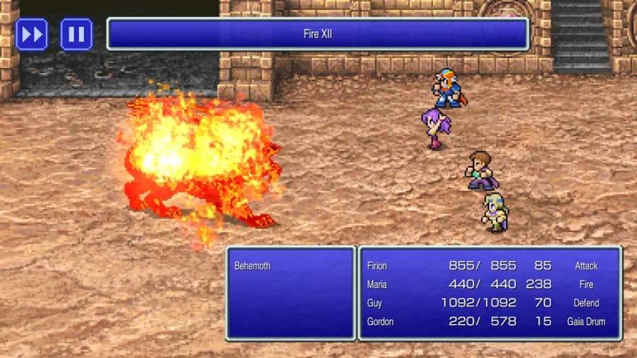 最终幻想II 复刻版截图2