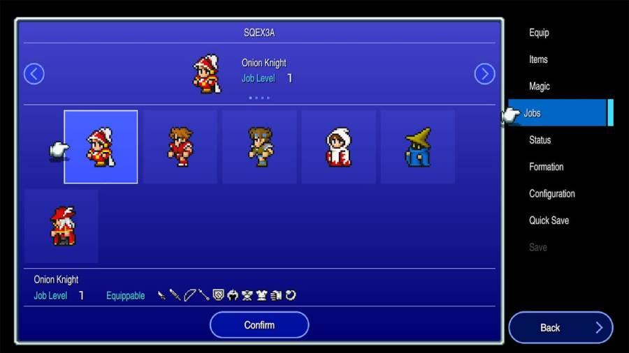 最终幻想III 复刻版截图0