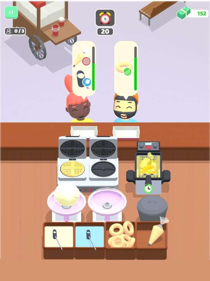 我的美食車3D截圖10