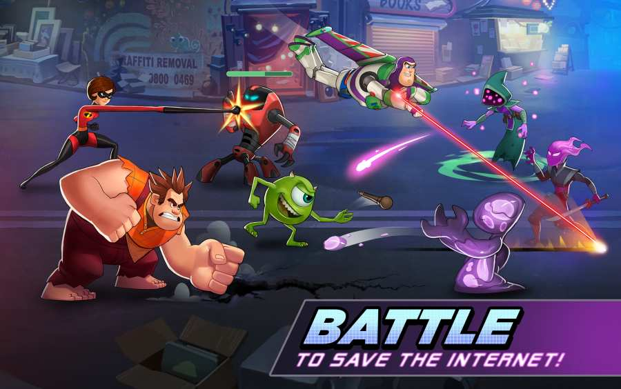迪士尼英雄:战斗模式 国际版