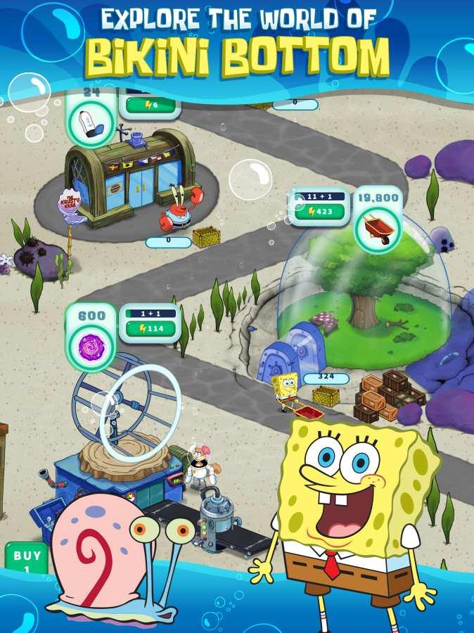 海绵宝宝的放置冒险 SpongeBob's截图3