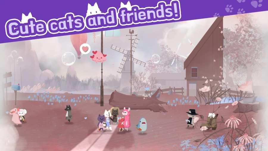 猫咪庇护所和动物朋友截图0