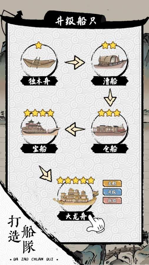 我在古代有船隊截圖2