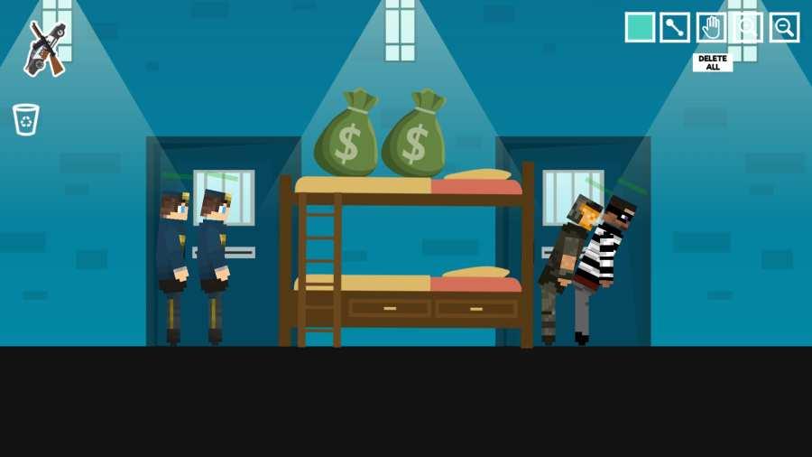 警察监狱游乐场