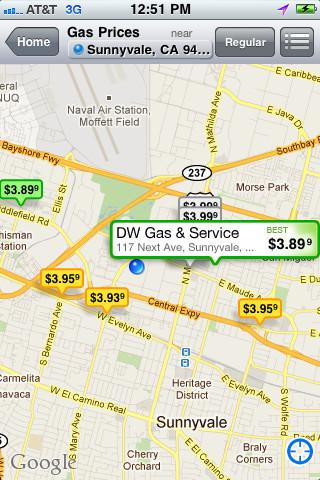 YP Yellow Pages Gas Prices截图2