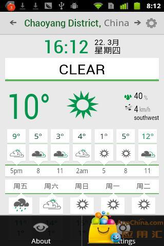 玩生活App 小清新天气免費 APP試玩