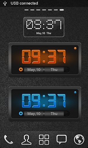 GO桌面时钟截图2