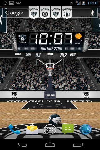 NBA 3D Live Wallpaper截图0