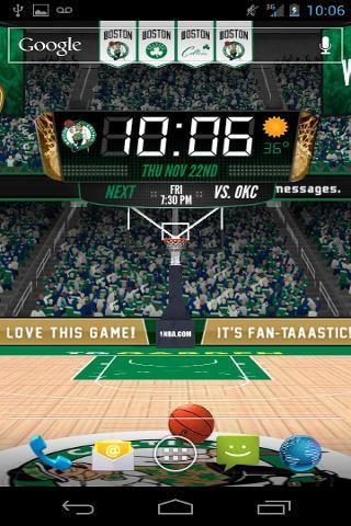 NBA 3D Live Wallpaper截图2