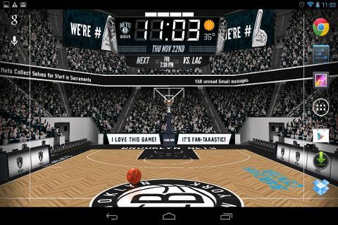 NBA 3D Live Wallpaper截图3