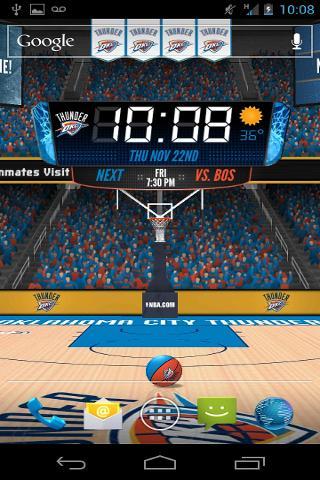 NBA 3D Live Wallpaper截图4