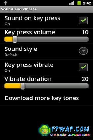 GO输入法语音插件:GO Keyboard Instrument Sound截图1