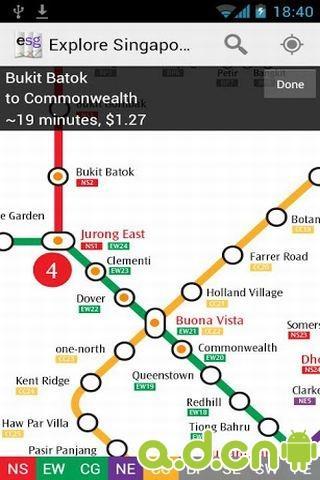 新加坡地铁地图截图2