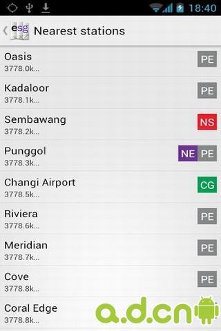 新加坡地铁地图截图3