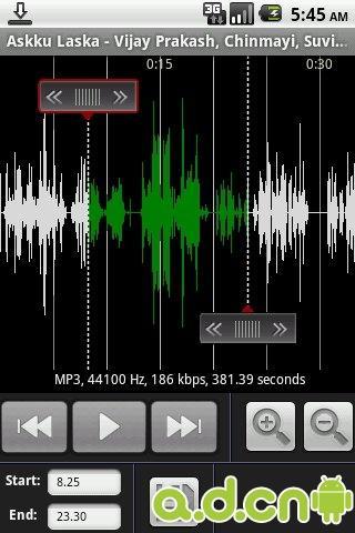 简略单纯MP3剪切