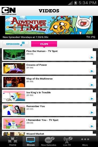 Cartoon Network Video截图2
