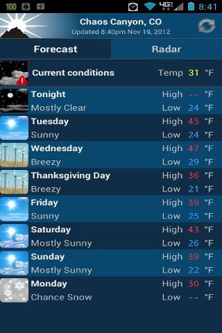 NOAA Weather Free截图2