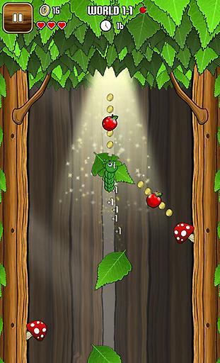 玩益智App|小青虫吃果果免費|APP試玩