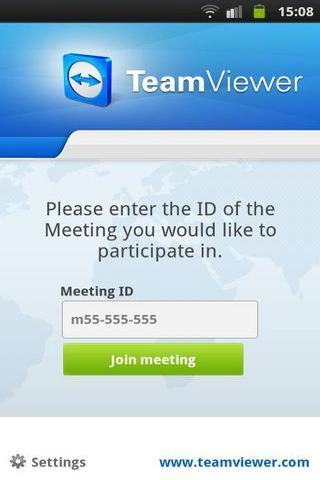 TeamViewer会议版本截图3