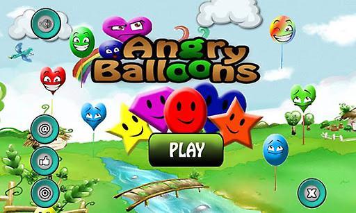 愤怒的气球:弹出气球