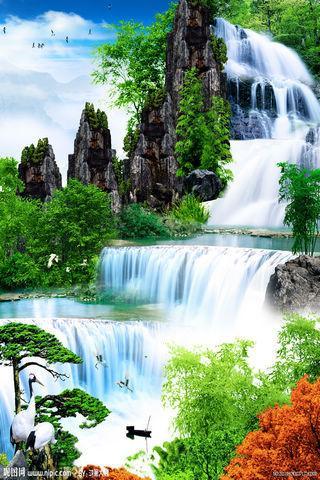 山水画动态壁纸安卓版下载 山水画动态壁纸 1.0手机版免费下载图片