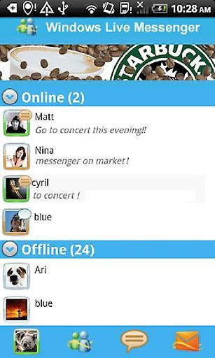 MSN聊天