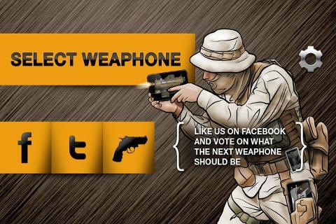 Weaphones: Gun Simulator Free截图4