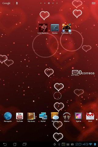 Love Live Wallpaper Lite截图0