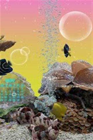 海底世界动态壁纸 Marine Aquarium 3.2 Lite
