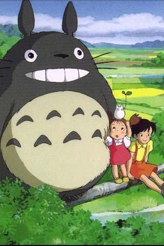 同名有宫崎骏的动画《龙猫》.