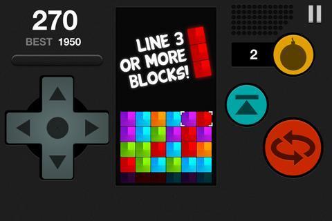 Block Attack Free Puzzle Game截图0