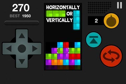 Block Attack Free Puzzle Game截图1